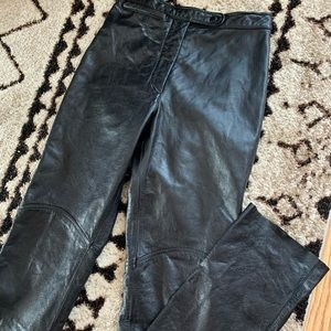 100% Real Leather Pants VINTAGE